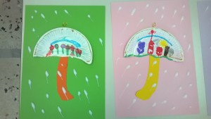 ομπρελίτσες νηπιαγωγείο