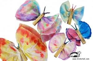 πεταλουδα χαρτοπετσετες
